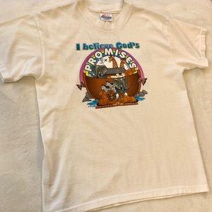 🆕 I Believe In God's Promises Noah's Ark T-shirt